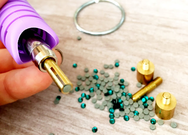 rhinestone tool pick up rhinestones heat gun rhinestones