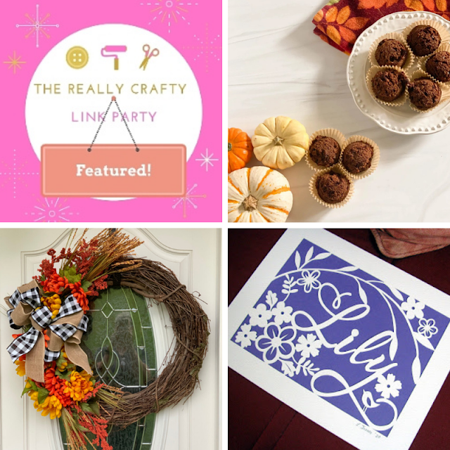 The Really Crafty Link Party #237 featured posts