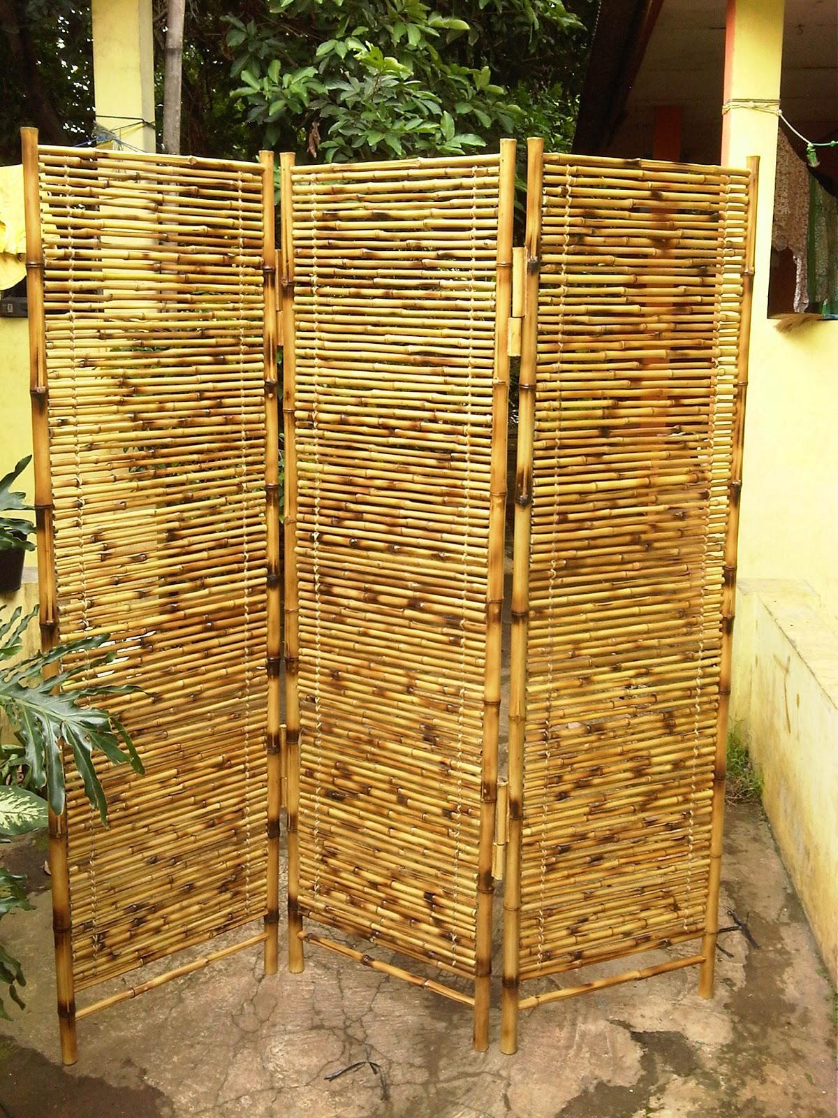 Waroeng Opera Indonesian Craft Rak Bambu Lipat