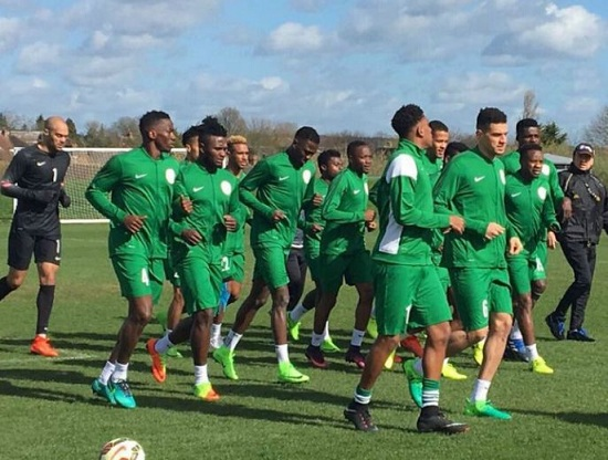 Nigerian Super Eagles begin preparations for the FIFA Wolrd Cup 2018