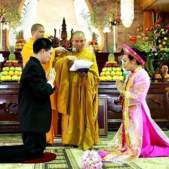 Tìm hiểu nghi thức lễ cưới trong tín ngưỡng Phật giáo