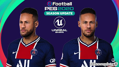 PES 2020 Faces Neymar Jr by Lucas