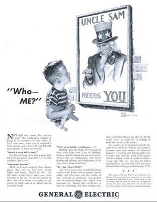 GE - Uncle Sam Needs You