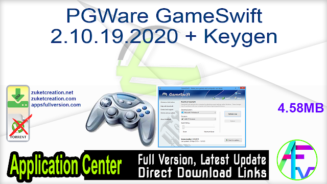 PGWare GameSwift 2.10.19.2020 + Keygen