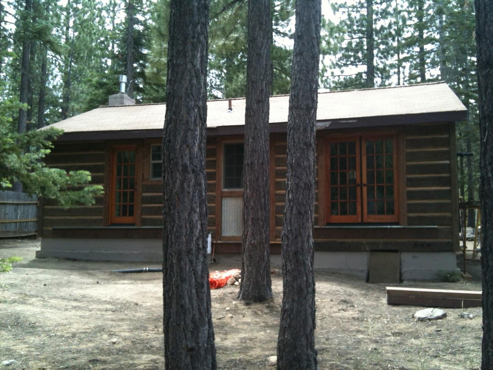 The Tahoe Project Pioneer Log Siding