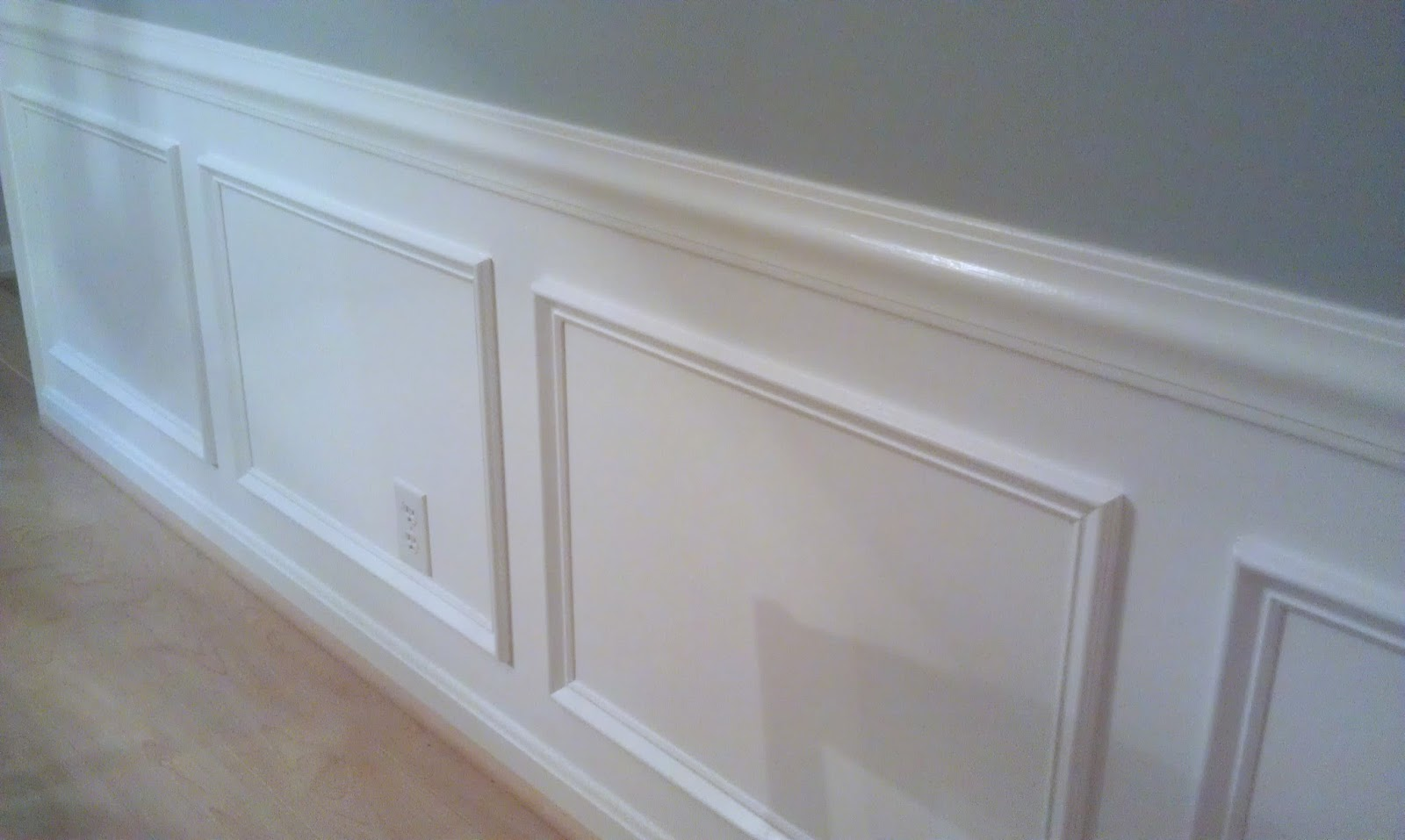 Homemade By Holman Picture Frame Moldings and a Kitchen