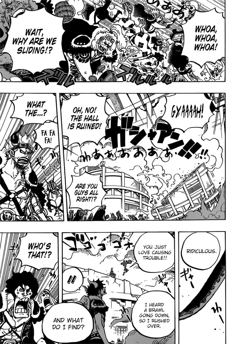 One Piece Manga Chapter 980 - Image 005