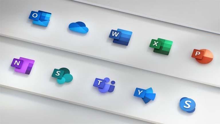 Microsoft Pamerkan Ikon Warna-Warni Baru Untuk Windows 10 dan Office Suite