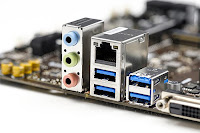 LAN  Ethernet RJ45 jack