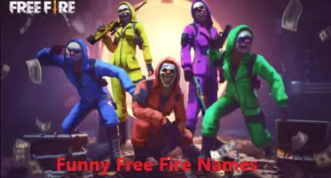 funny free fire names