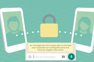 WhatsApp sicuro