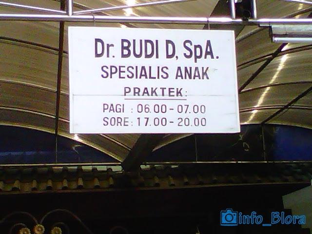 Dokter Budi D, SpA (Spesialis Anak)
