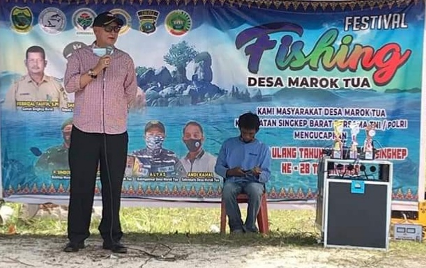 Pjs Bupati Lingga Apresiasi Festival Fishing Diharapkan Dapat Mempromosikan Destinasi Wisata