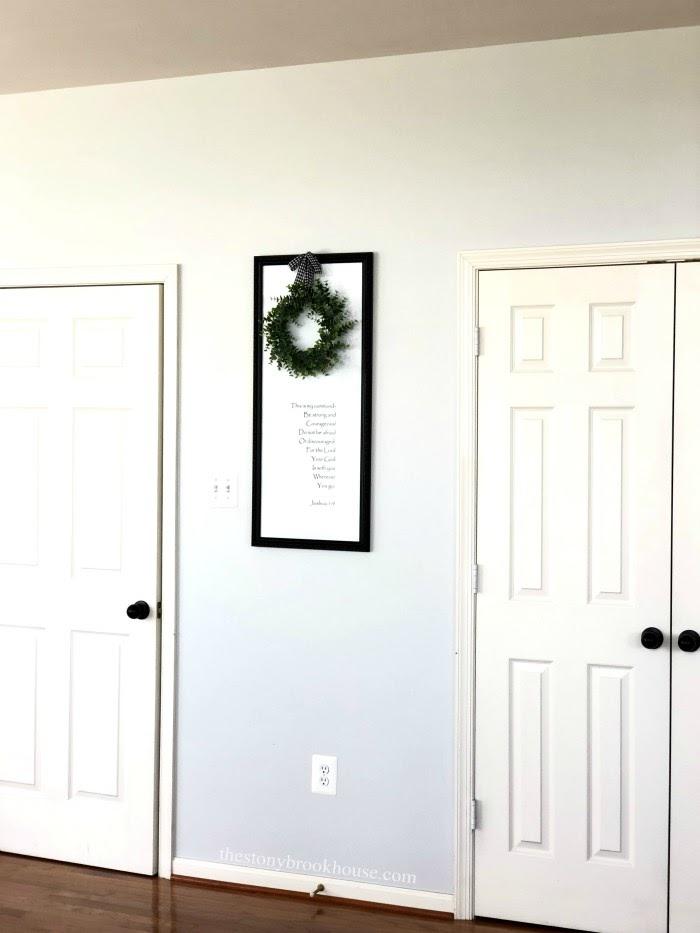 Interior doors before