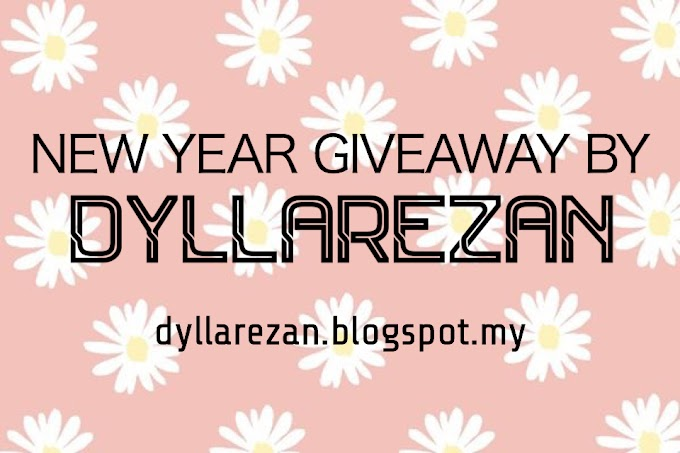 NEW YEAR GIVEAWAY BY DYLLAREZAN