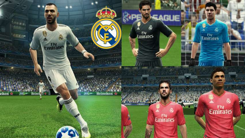 Pes 2019 real madrid kits 09