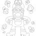 Mario and Cappy para Colorir