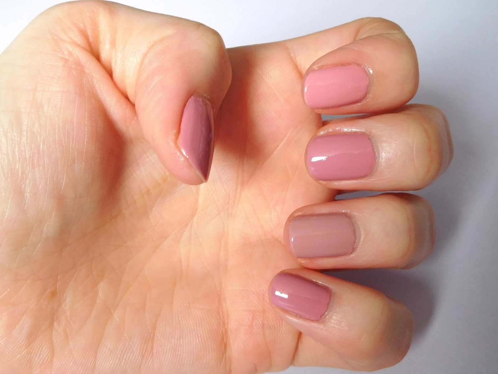 Essie Into The A Bliss and Rocky Rose Nail Polishe