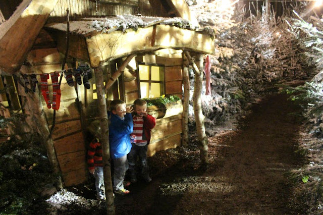 elf house at Lapland UK