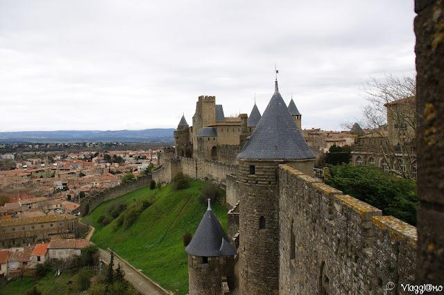 Vista panoramica sulle mura cittadine
