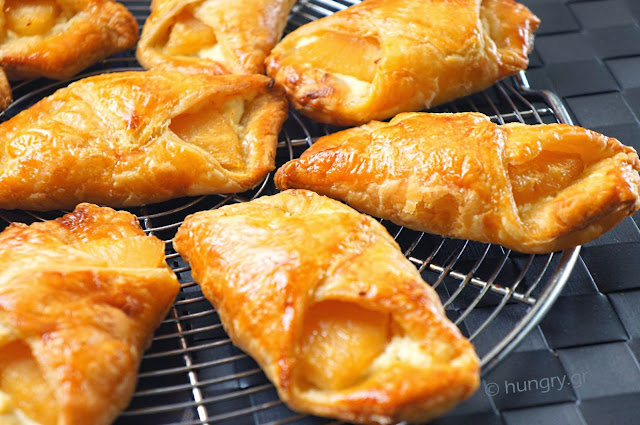 Pineapple and Cream Cheese Pastry Pockets