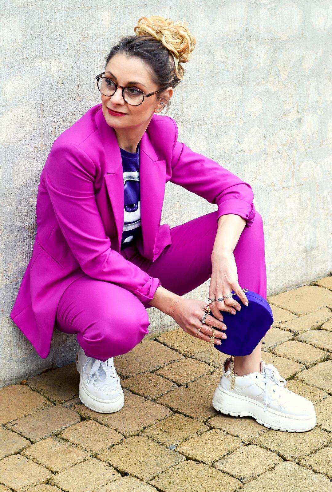 Violett-Pink-kombinieren-Damen