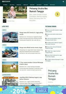 Nama Dan Versi Template Blogger Mastimon Yang SEO