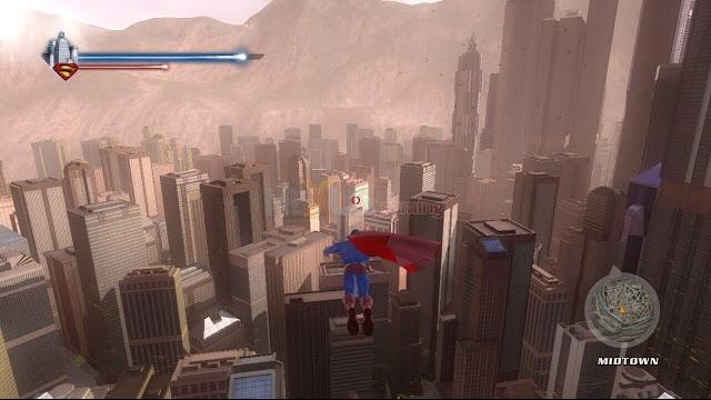 تحميل لعبة superman returns للكمبيوتر