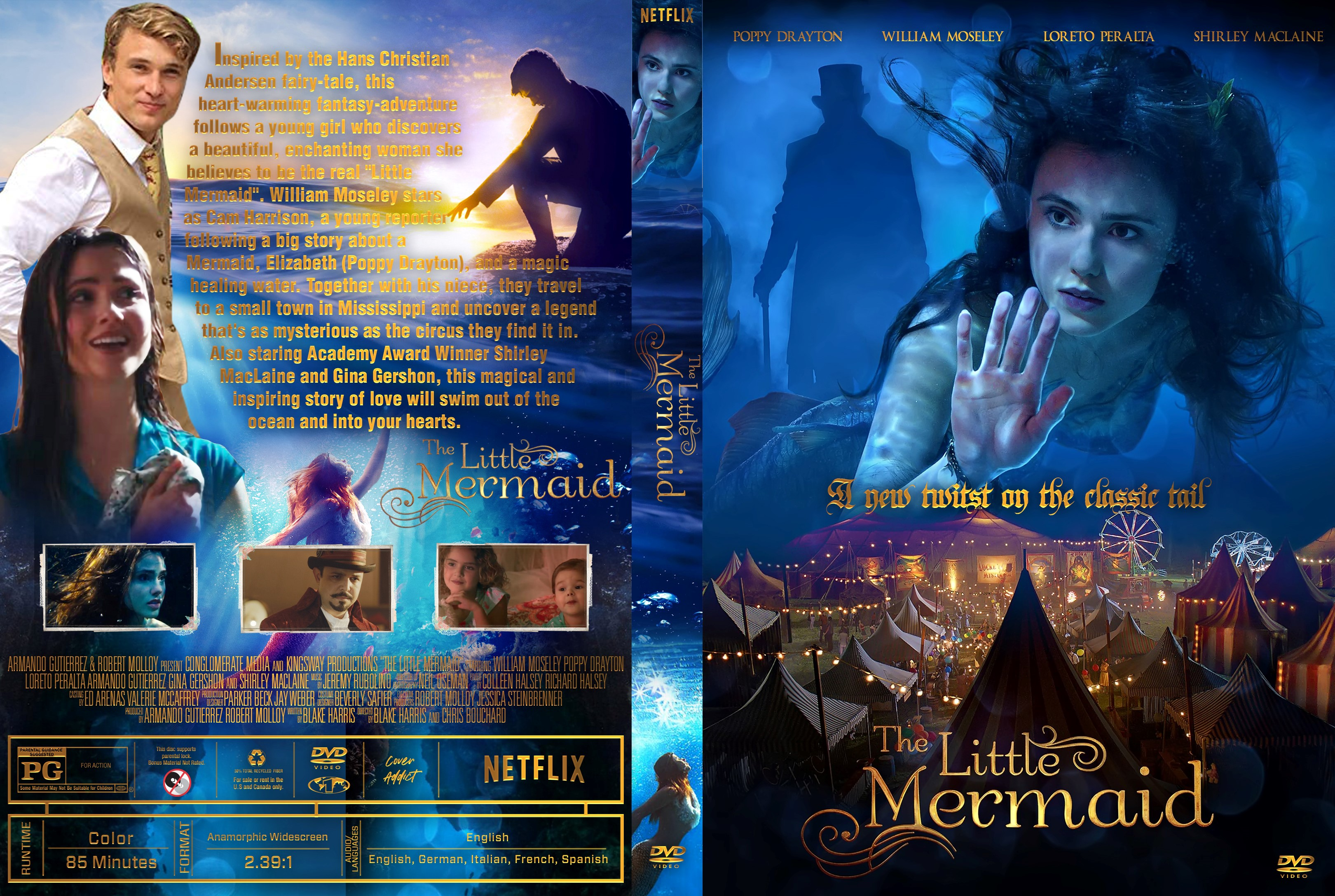 The Little Mermaid Dvd Cover - Cover Addict - Free Dvd -7337