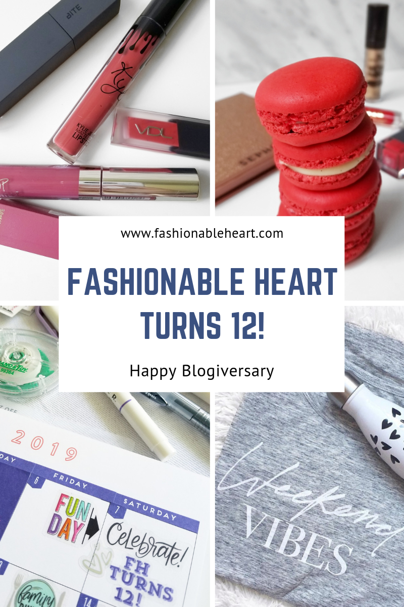 bblogger, bbloggers, bbloggerca, bbloggersca, canadian beauty bloggers, beauty blog, southern blogger, lifestyle blogger, fashionable heart, blogiversary, blog birthday,