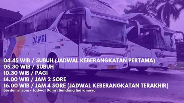 Jadwal Damri Bandung Indramayu Terbaru
