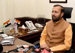 javadekar-takes-charge-of-the-ministry-of-heavy-industries