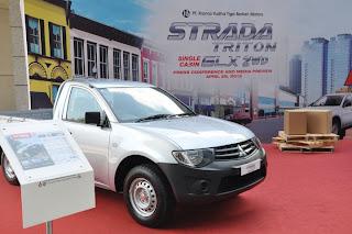Harga Mitsubishi Srada Triton Single Cabin 4x2 GLX