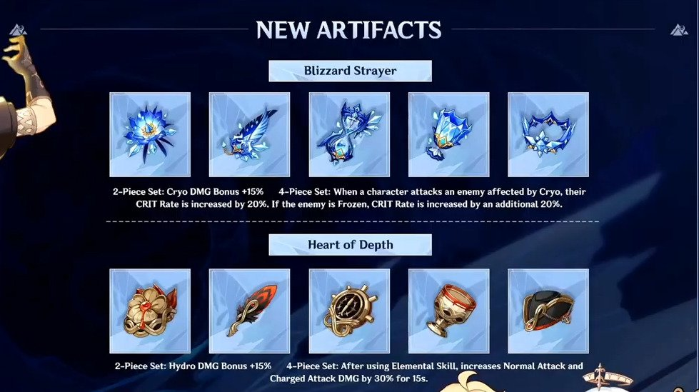NEW SETS AND NEW WEAPONS