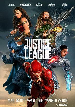 Justice League 2017 Dual Audio BRRip 720p