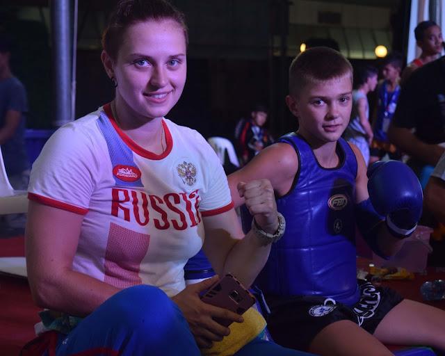 Amateur Muay thai IFMA Russia coach boxer