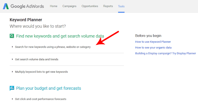 Google Keyword Planner দিয়ে কিভাবে Keyword Research করবেন?