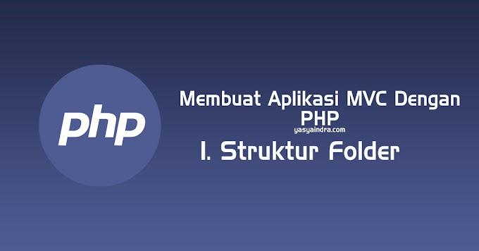 Cara Membuat Aplikasi MVC Dengan PHP. #1 Struktur Folder