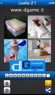 PACCHETTO 5 Soluzioni Trova la Parola - Foto Quiz con Immagini e Parole soluzione livello 21
