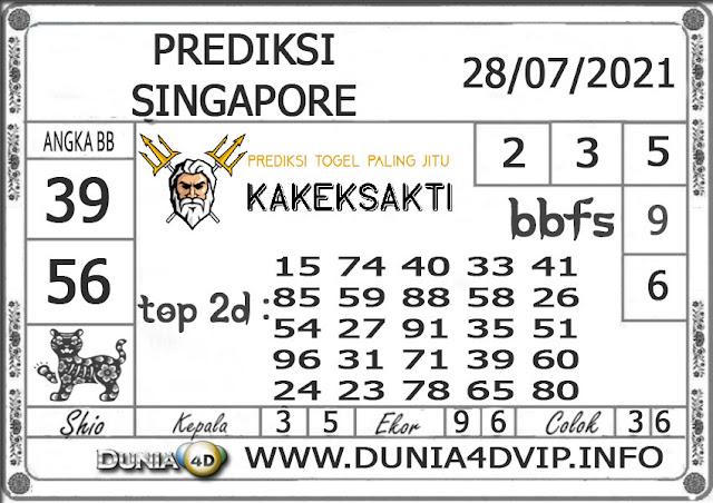 Prediksi Togel SINGAPORE DUNIA4D 28 JULI 2021