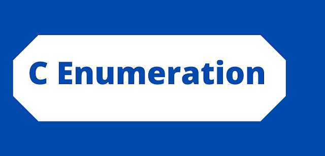 C Enumeration