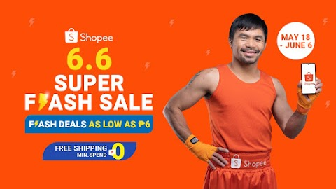 6 Reasons Why You Should Not Miss Out Shopee 6.6 Super Flash Sale