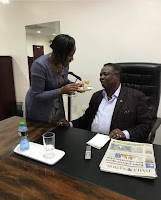 Atwoli%2B1 - Men dying of jealousy as KTN's MARY KILOBI feeds her dinosaur husband FRANCIS ATWOLI like a baby during his birthday (PHOTO).