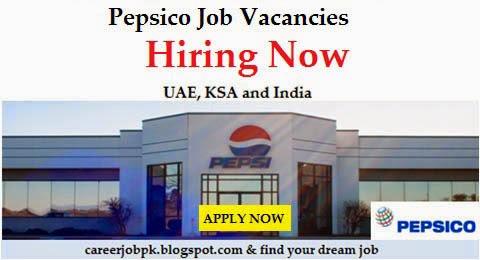 Jobs in Pepsico Dubai, Saudi Arabia, India