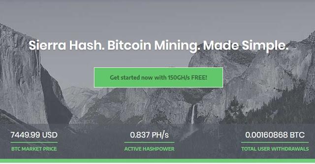 Site cloud mining tặng Ghs miễn phí