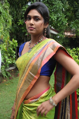 Manisha Yadev rare sexy navel Saree images