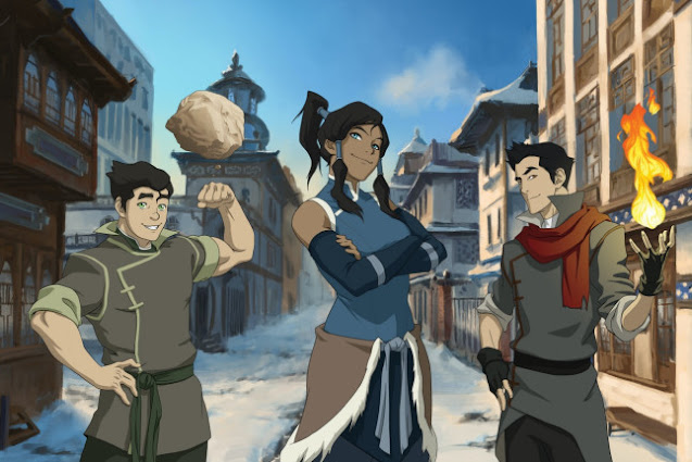 The-Legend-of-Korra-The-Avatar-is-back-and-this-time-she-is-a-teenager-who-is-far-from-calm-and-peaceful
