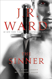 Book Review: The Sinner (Black Dagger Brotherhood #18) by J. R. Ward