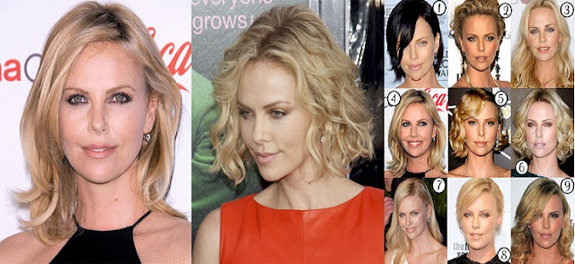 Charlize Theron Saç Modelleri