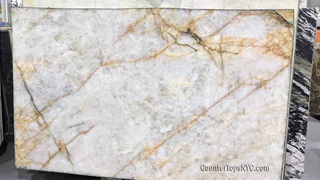 Lumix Polished Quartzite Slab 3cm NYC